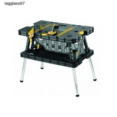 Work Table Folding Keter Bench Portable Tools Cut Saw  Father's Day Gift New