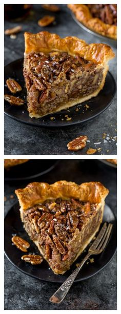 No Corn Syrup Pecan Pie