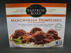 Saffron Road Manchurian Dumplings with Basmati Rice.