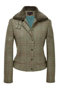 I want this jacket SO bad!  I have a couple other of their items and I always get a ton of compliments on them!  Tweed Bomber Jacket [TWD 057] - £295.00 : Really Wild Clothing Company
