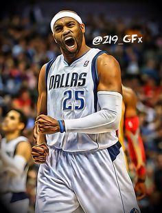Vince Carter...Dallas Mavericks