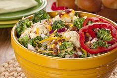 We've got what we think is the Best Broccoli Salad, and we're betting you'll agree! This garden-fresh broccoli salad that's tossed in a creamy homemade dressing and livened up with a few surprises is sure to be one of your favorite easy salad recipes