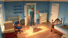 Toy Story 3 (Pixar)....  THIS IS HOW THEY CREAE ATMOSPHERE IN PICTURES, ANNIMATIONS, ETC ....SEE IT ON THIS PINTEREST BOARD: http://www.pinterest.com/antoinepoyard/lighting/