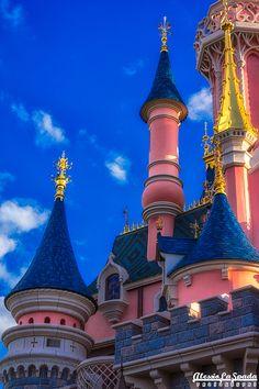 """Sleeping Beauty Castle"" by Alessio La Spada, via 500px."