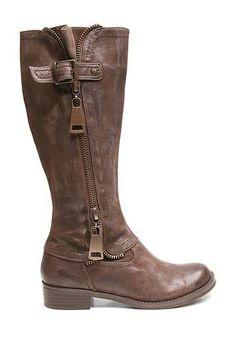 Jersey Zip Boot