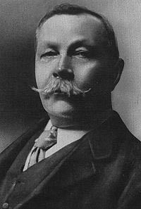 Sir Arthur Conan Doyle (22 May 1859 – 7 July 1930) - Scottish writer, physician and spiritualist best known for his Sherlock Holmes stories.