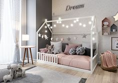 Little Girl Bedrooms, Girls Bedroom, Montessori Baby, Baby Room Decor, Girl Room, Decoration, Toddler Bed, Furniture, Home Decor