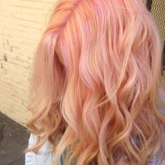 Cotton candy pink using Pravana pastels. - Yelp