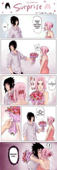 SasuSaku = Sasuke Uchiha + Sakura Haruno