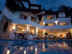 Puerto Vallarta Villa Rental: Private Beach Family Villa + 2 Guest Cottages,sleeps 12, Gt Views + Staff | HomeAway Luxury Rentals