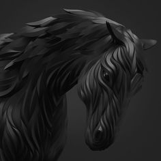 Wolf and Hoof 3D Animals by Maxim Shkret (6)