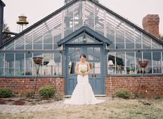 greenhouse wedding inspiration | Laura Gordon Photography | The Lovely Find