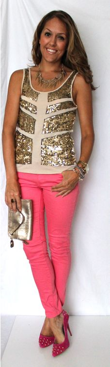 J's Everyday Fashion: Today's Everyday Fashion: Saturday Night- Love the color combo!