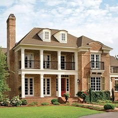 17 pretty house plans with porches Forest Glen - Plan No. 238 Inspired by architectural styling of the Old South, Forest Glen will charm you. Porch House Plans, Cottage House Plans, Best House Plans, Cottage Homes, Cottage Style, Southern Cottage, Southern Living House Plans, Southern Porches, Southern Homes