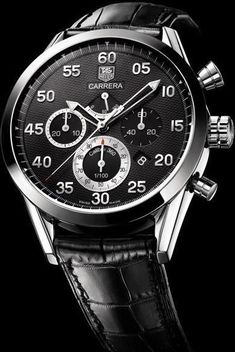 TAG Heuer Carrera Calibre 360 2006. Leather straps are coming back into fashion, you can count on it. - latest watches for mens with price, online watch shop, titanium mens watches *ad