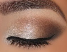 eye shadow for bridesmaids