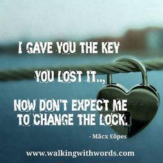 Key  #walkingwithwords #heart #key #inspiration