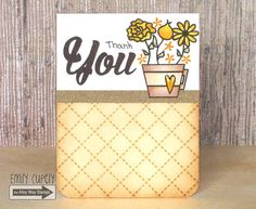 Video by Emily Cupely - TAWS, Wispy Wishes, Breakfast Club, Sweet Thing, card making, cards, clear stamps, watercolor, Thank You, Autumn, Fall, flowers, mug, coffee, tea