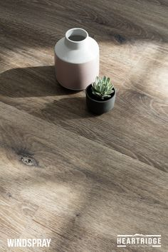 HEARTRIDGE FLOORS - Windspray / Luxury Vinyl Plank Flooring