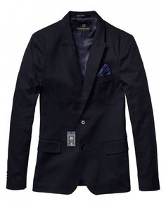 Pique Blazer > Mens Clothing > Blazers at Scotch & Soda - Scotch & Soda Online Fashion & Apparel Shop 160,-