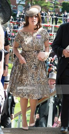 Princess Eugenie of York attends day 4 of Royal Ascot on June 19, 2015 in Ascot, England.