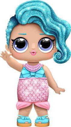 x - lol Glitter Party Decorations, Lol Doll Cake, Fairy Figurines, Doll Party, Lol Dolls, Cute Disney, Big Eyes, Cute Drawings, Paper Dolls