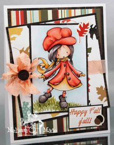 Happy Fall Y'all by MelissaMade2 - Cards and Paper Crafts at Splitcoaststampers