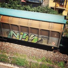 From instagram profile @utente_571123 #niss #2md #freightgraffiti #freights #freight #graffneverdies #graffitineverdies #italy #photo #by #st #one