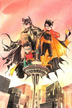 Bats, Batgirl and Robin PERFECT Batgirl costume!