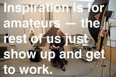 Chuck Close on creativity