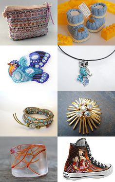Ombre by GCB Mosaics on Etsy--Pinned with TreasuryPin.com