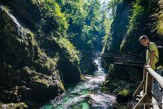 Słowenia - Alpy Julijskie - perełka okolic Jeziora Bled – Wąwóz Vintgar