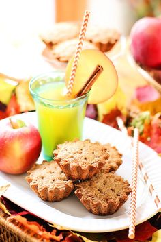Fall Apple Spice Shortbread Cookie Recipe | The Bakers Party shop