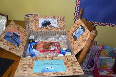 Ideas For Care Packages Cookie monster care package How Sound Insulations Work Sound insulations are Missionary Care Packages, Deployment Care Packages, Care Package Decorating, Soldier Care Packages, Military Deployment, Military Life, Toy Boxes, Gift Boxes, Diy Birthday