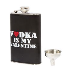 Vodka Is My Valentine Flask and Funnel Set | Icing