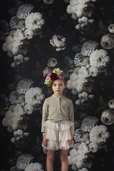 'A Day by the Dark Floral' featuring pieces from Caramel Baby & Child's SS'14 collection. Photography by Alexandrena Parker. Styling by Paige Anderson.