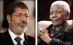 مرسي ومانديلا