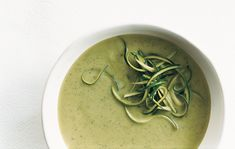 Find the recipe for Zucchini-Basil Soup and other herb recipes at Epicurious.com