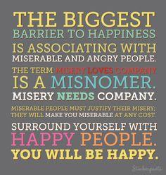 bye bye miserable people