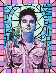 Morrisey # post punk # vitral