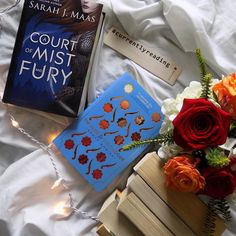 So far ACOMAF has been the kind of book where I just can't put it down and I'd get mildly annoyed when I'm in the middle of an eventful chapter and someone calls for me to do something  I might just stay up tonight to finish it  Reminder that if you join us this month use either our #acourtofweareallgonnadie or #academywildcard for The Rose and the Dagger to be entered to win a bookmark with out logo on it   Fid (@readsleepfangirl ) by bibliophileacademy