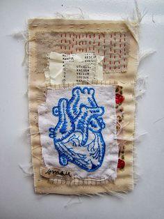 Beautiful piece of stitching by Emma Parker.