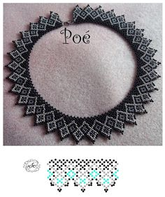 Дыхание Бисера's photos - - Дыхание Бисера's photos Perles / Bead / necklace Дыхание Бисера's photos Diy Necklace Patterns, Beaded Jewelry Patterns, Beading Patterns Free, Beading Tutorials, Seed Bead Jewelry, Jewelry Making Beads, Beaded Collar, Diy Schmuck, Handmade Beads