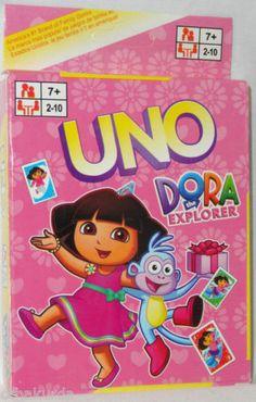 Uno Dora The Explorer Card Game New | eBay Family Game Night, Family Games, Dora And Friends, Dora The Explorer, Card Games, Cards, Ebay, Confidence, Maps