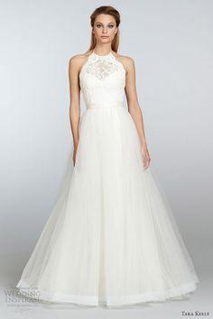 mariée, bride, mariage, wedding, robe mariée, wedding dress, white, blanc Tara Keely Spring 2013 bridal collection