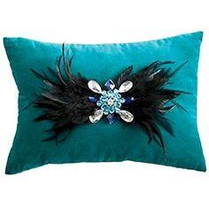 DIY pillow embellishment