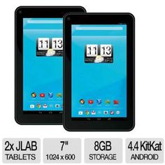 "JLAB Pro 7"" HD/8GB/Droid 4.4 Buy one Get one Free"
