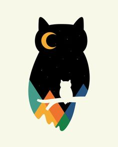 Eye On Owl Art Print by Andy Westface | Society6