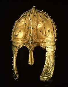 This splendid cavalry-helmet was found in 1910, by people cutting peat in the Peel in the vicinity of the town of Deurne. Other finds were a leather money pouch, 38 bronze coins, a bronze mantle pin and three shoes. Initially, it seemed that man and horse had drowned in the bog. Nowadays it is assumed, rather, that the helmet was given a ritual burial after its owner had completed his military service. Click on the image to read more!   Rijksmuseum van Oudheden