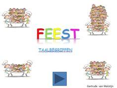 Digibordles feest: taalbegrippen  http://leermiddel.digischool.nl/po/leermiddel/00c7c100307630d82f0db806c91cafd4